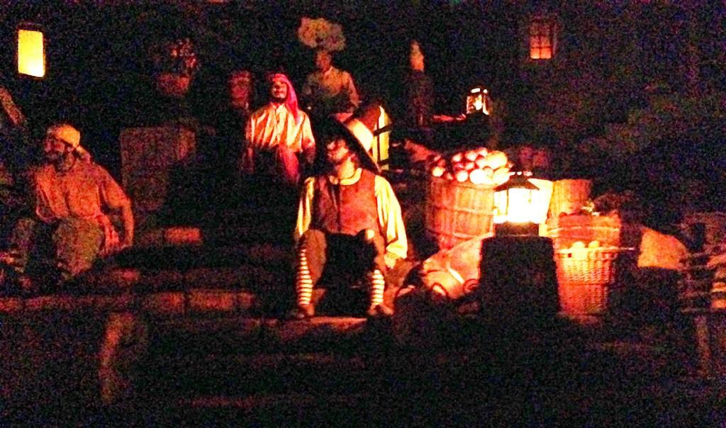 Pirates Town Scene