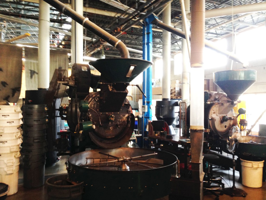 Industrial Chic - The Coffee Roasters at the Colectivo in Riverwest