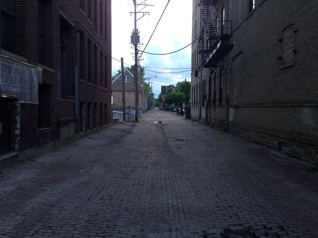 The gray slowly creeps into Milwaukee