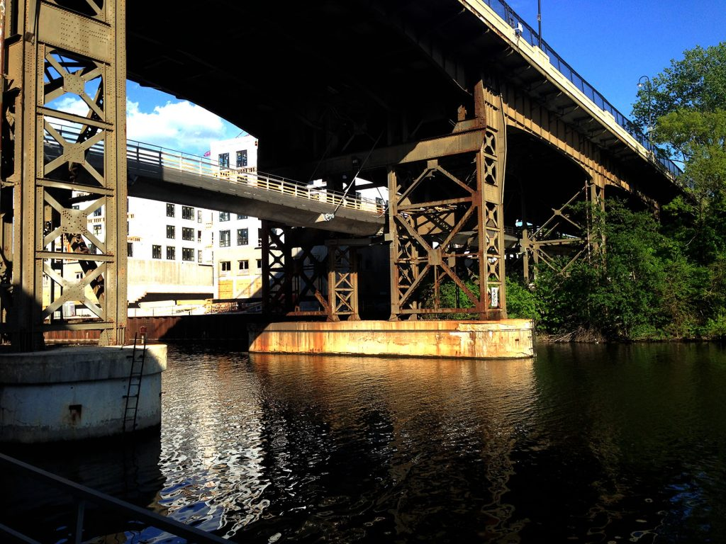 Milwaukee bridges the past and present