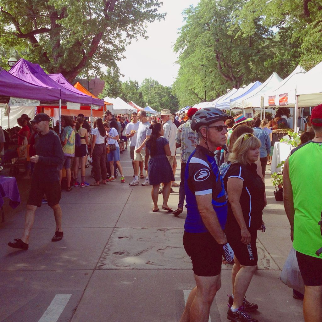 The Boulder County Farmer's Market - a certain kind of lifestyle
