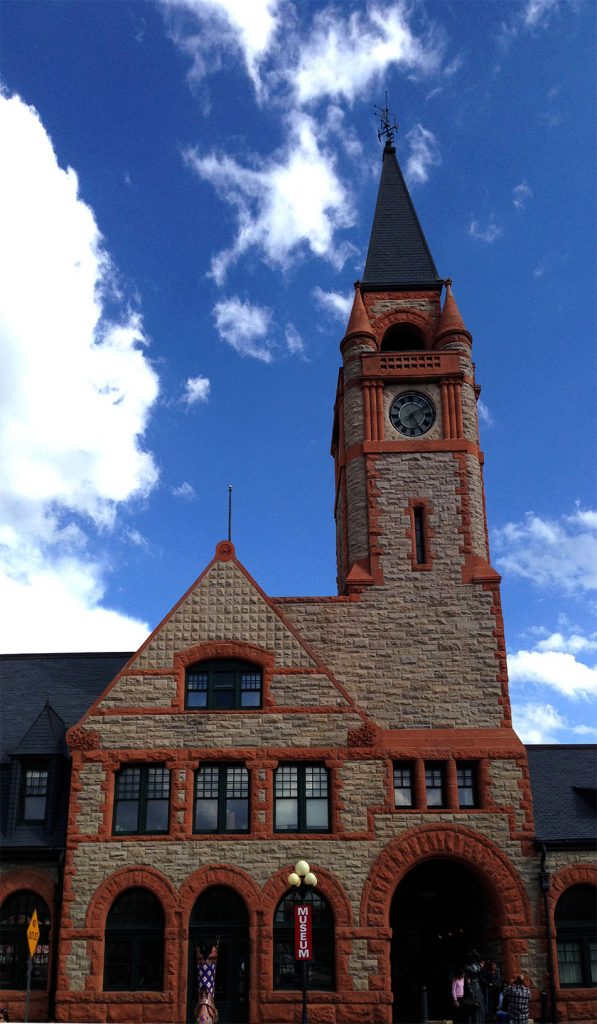 The Cheyenne Train Depot towers as a reminder of a similarly rich world - the romantically epic world of the American West
