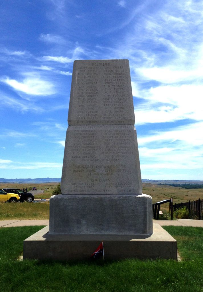 The Richness of a world expands through the backstory, like the history of battles that soak the land. This monument marks the location of the hill where Custard died in the Battle of Little Bighorn