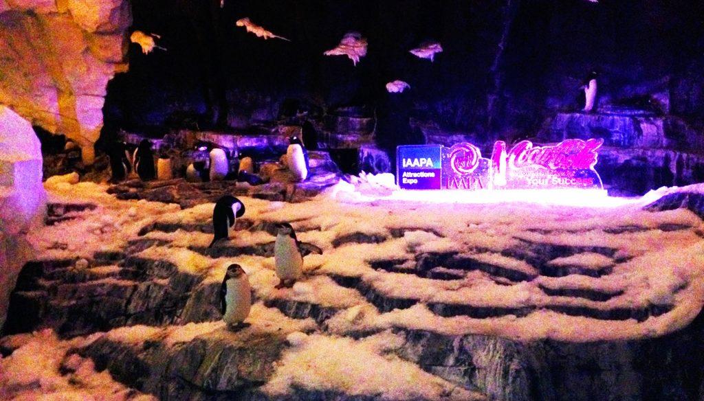 IAAPA Celebrates - Branding at Empire of the Penguin, Sea World, Orlando