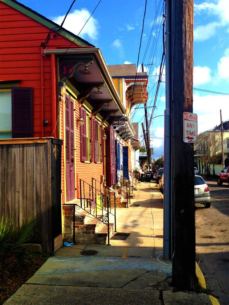 Bywater by day is quite charming