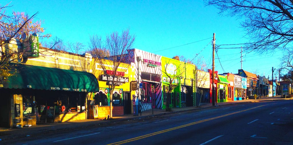 The shops of Little Five Points